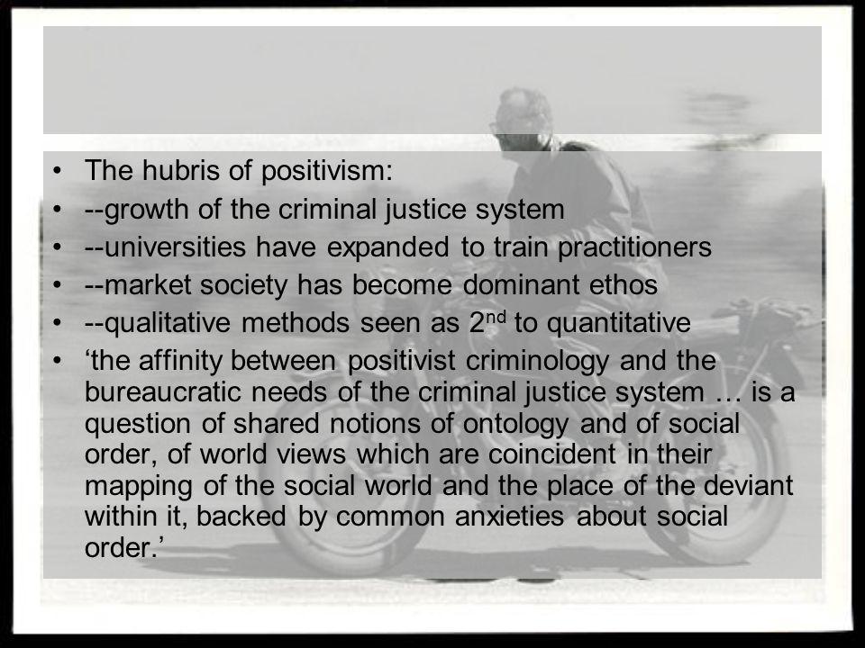 The hubris of positivism: