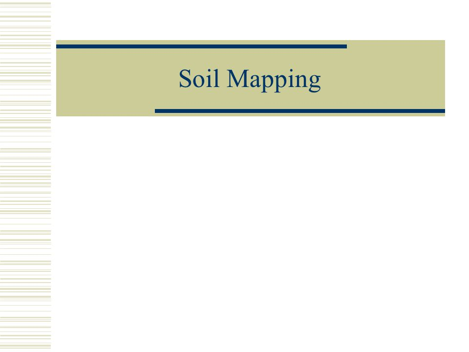 Soil Mapping