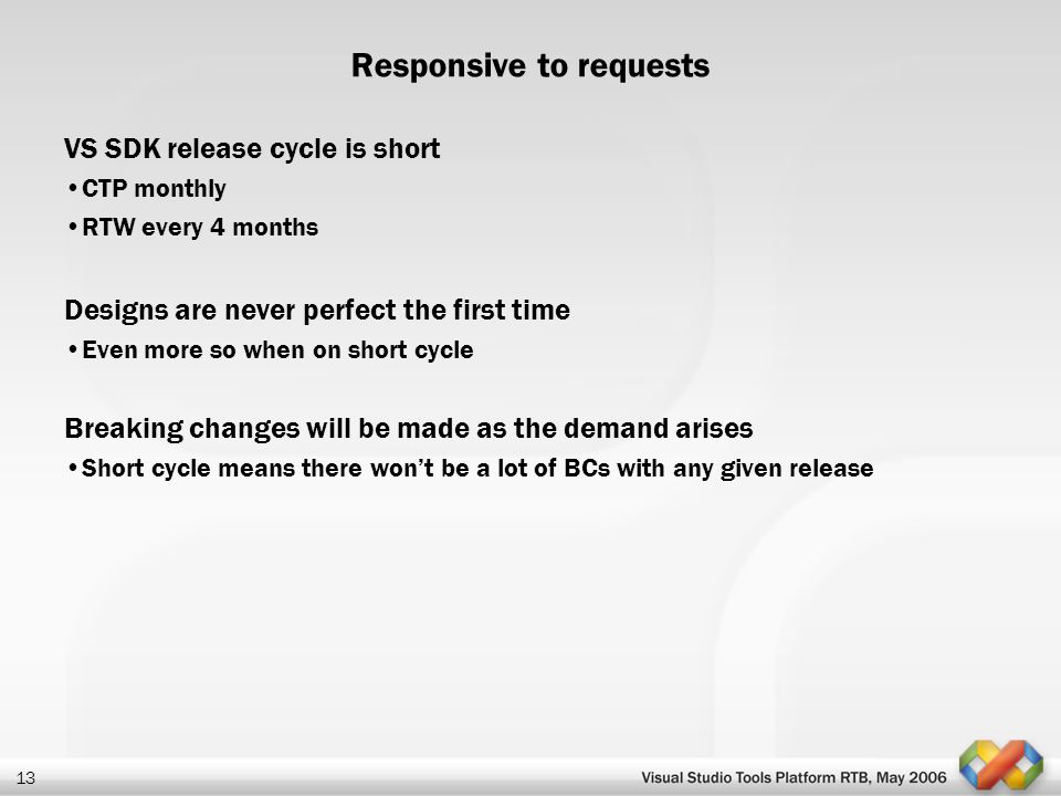Responsive to requests