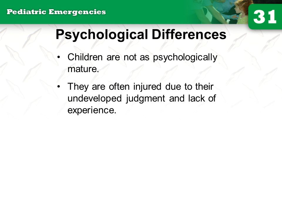 Psychological Differences