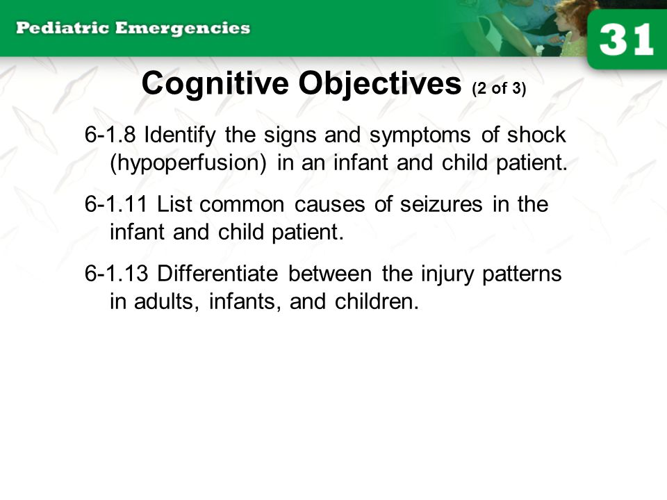 Cognitive Objectives (2 of 3)
