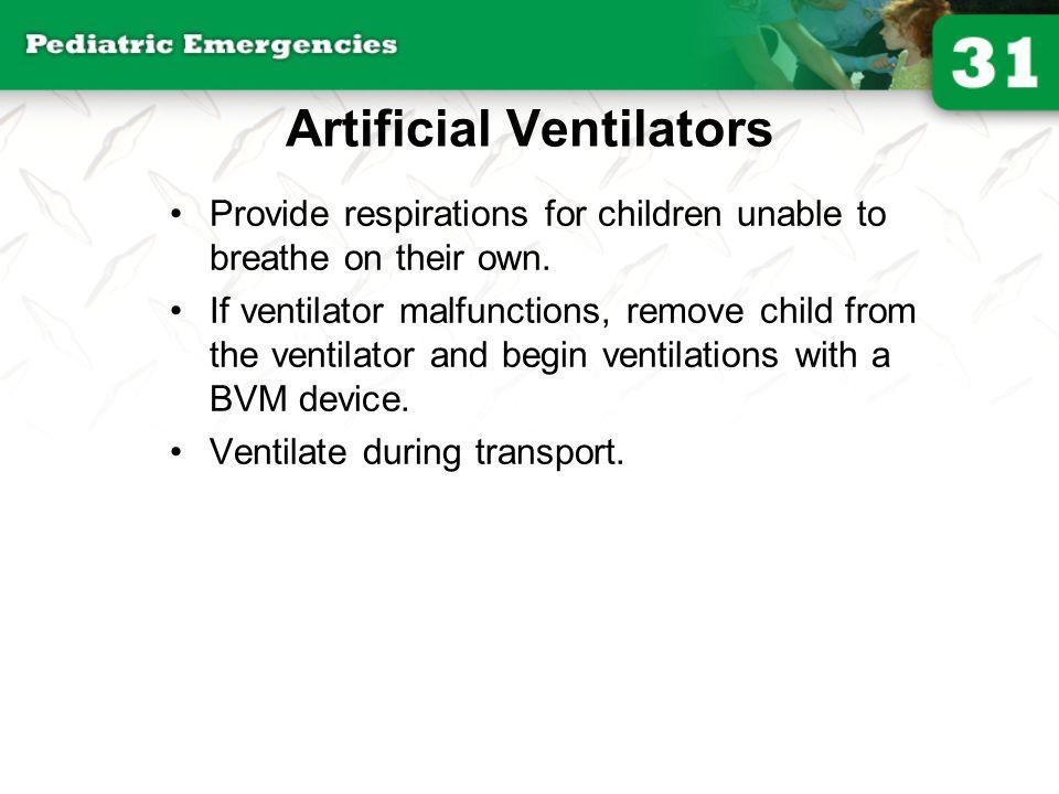 Artificial Ventilators
