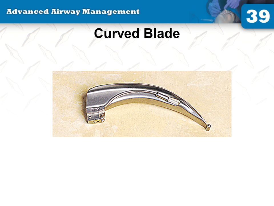 Curved Blade