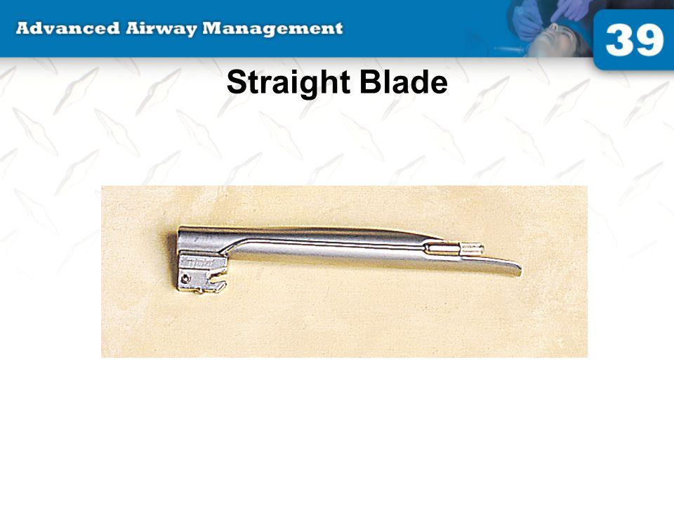 Straight Blade