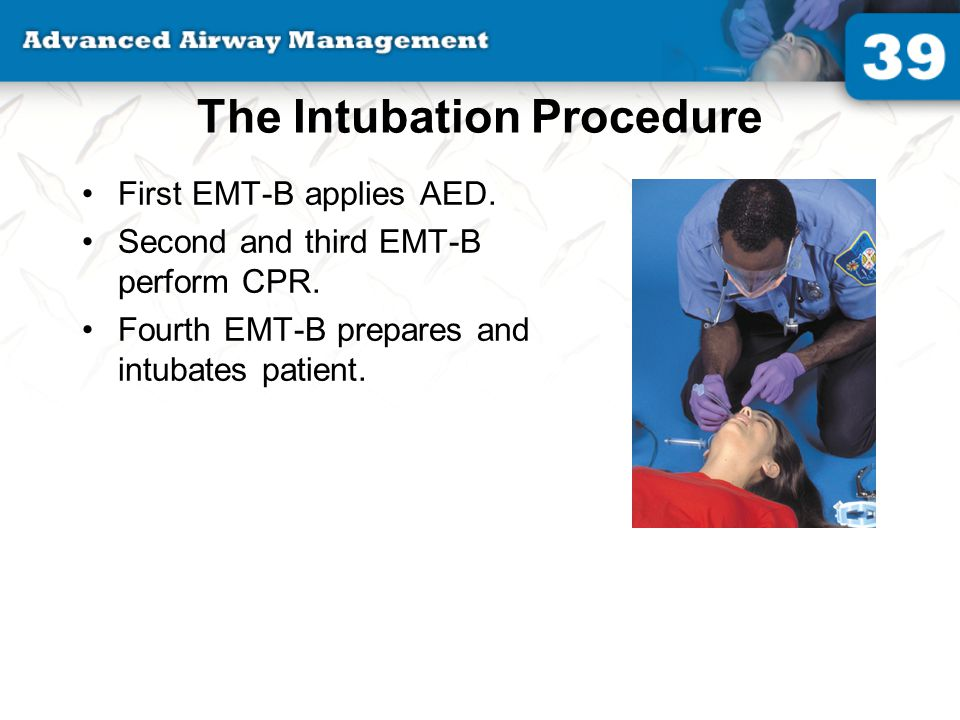 The Intubation Procedure