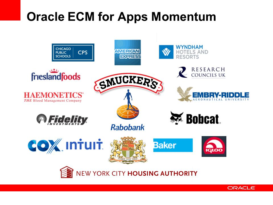 Oracle ECM for Apps Momentum