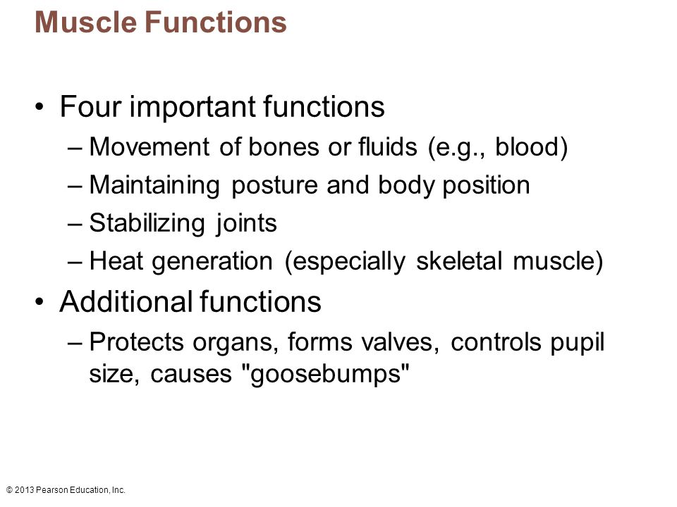 Four important functions