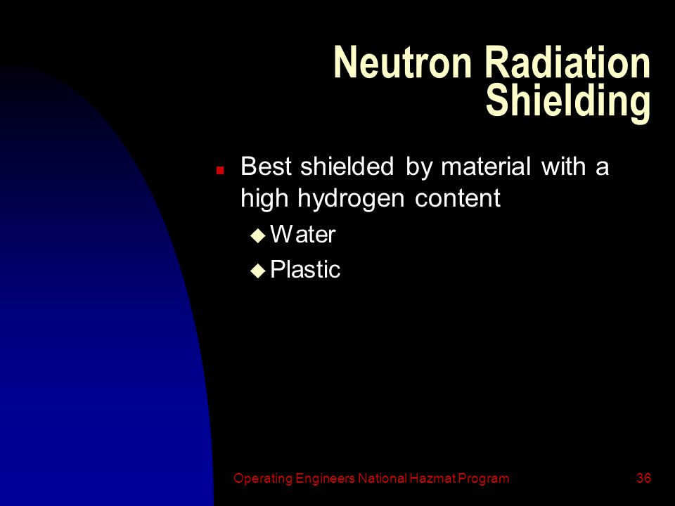 Neutron Radiation Shielding
