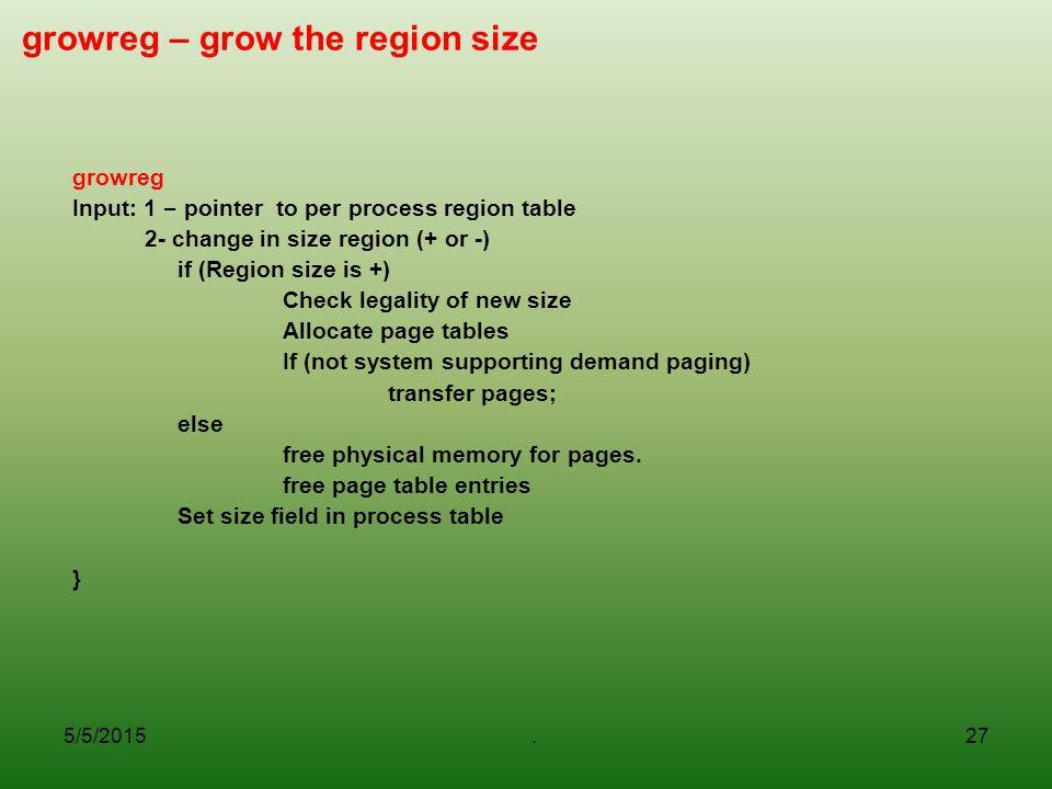 growreg – grow the region size