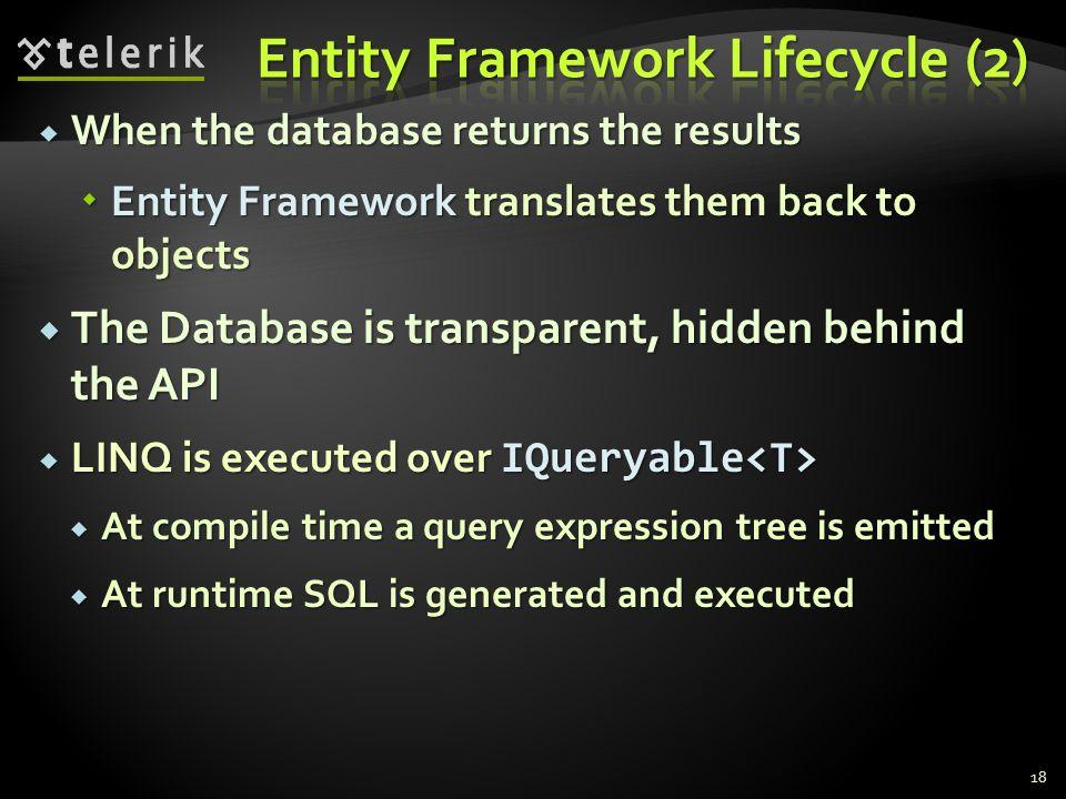 Entity Framework Lifecycle (2)