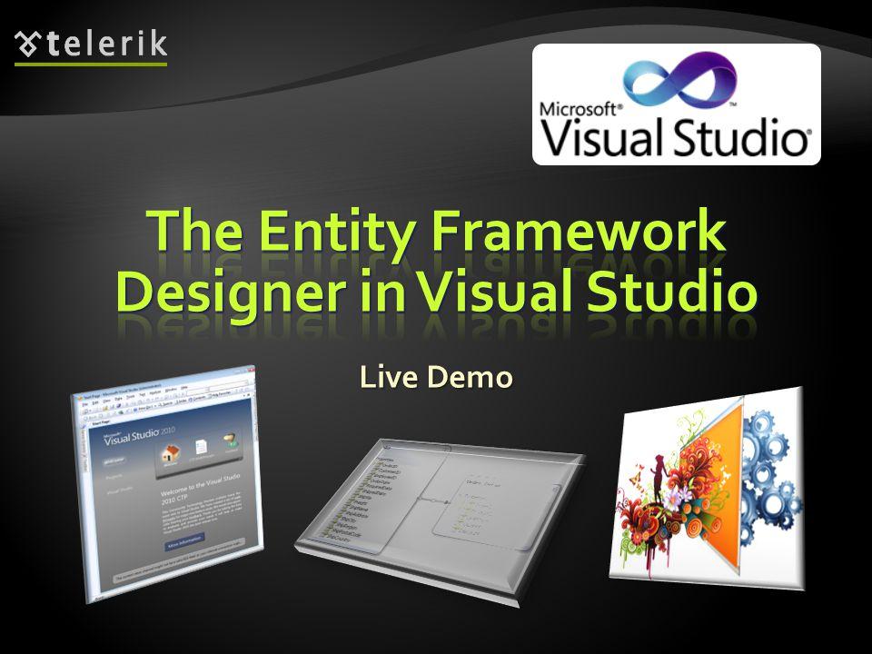 The Entity Framework Designer in Visual Studio