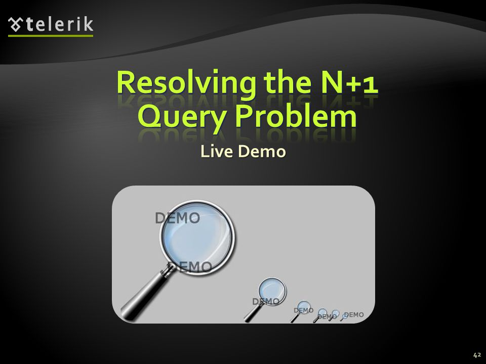 Resolving the N+1 Query Problem