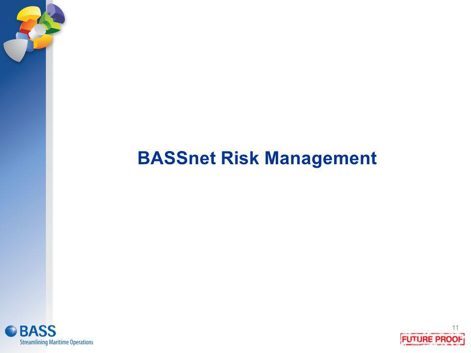 BASSnet Risk Management