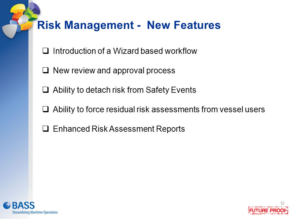 Risk Management - New Features
