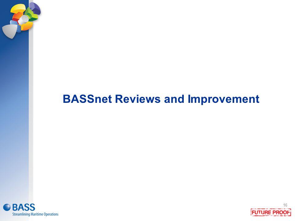 BASSnet Reviews and Improvement