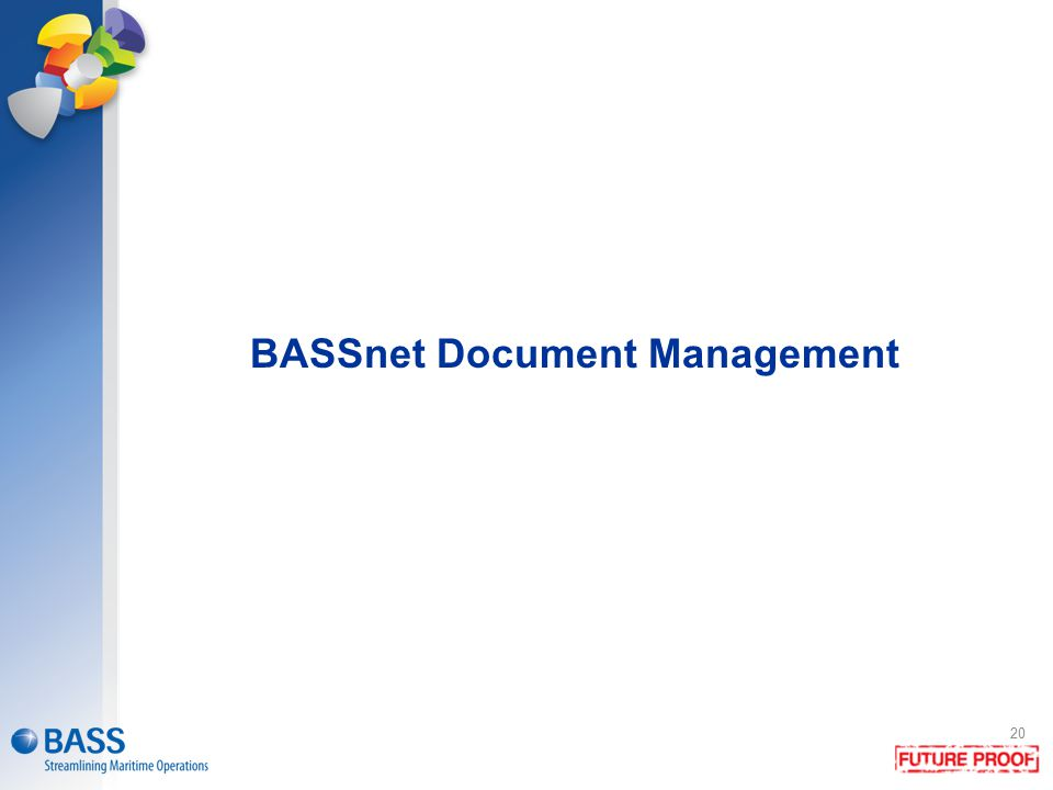 BASSnet Document Management