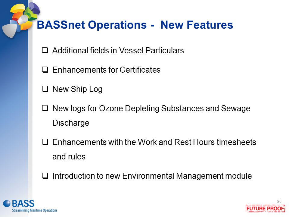 BASSnet Operations - New Features