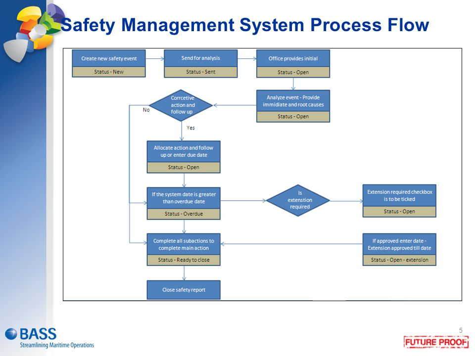Safety Management System Process Flow