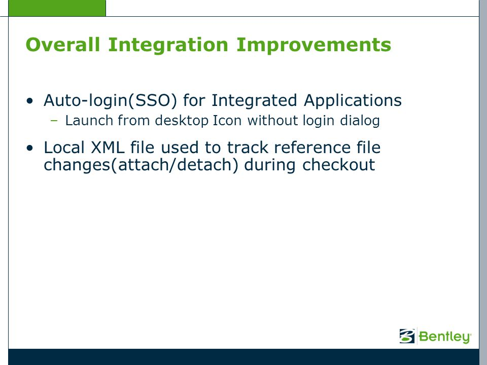 Overall Integration Improvements