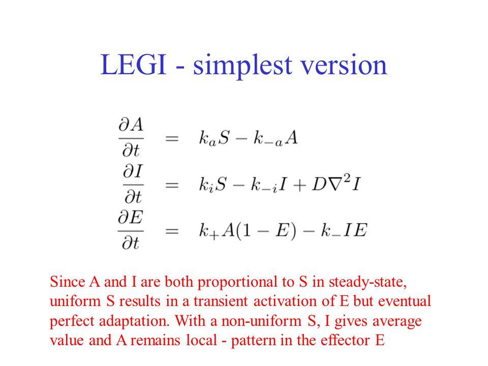 LEGI - simplest version