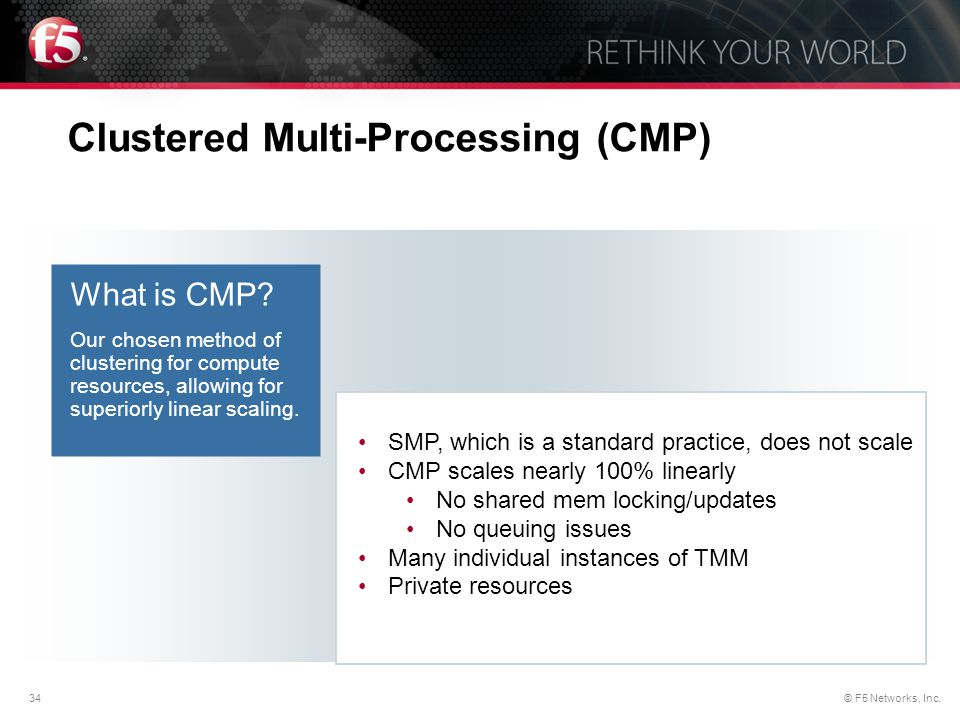 Clustered Multi-Processing (CMP)