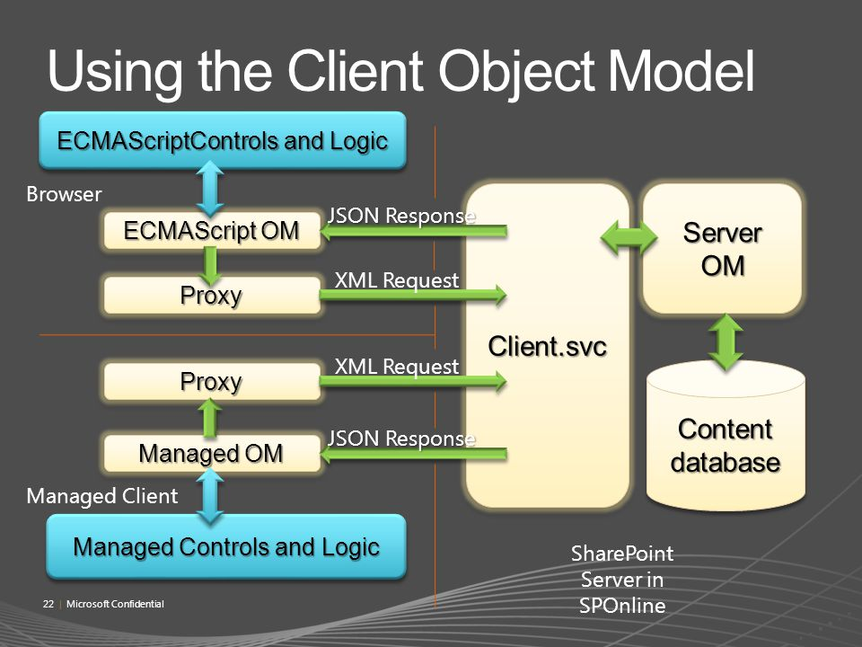 Using the Client Object Model