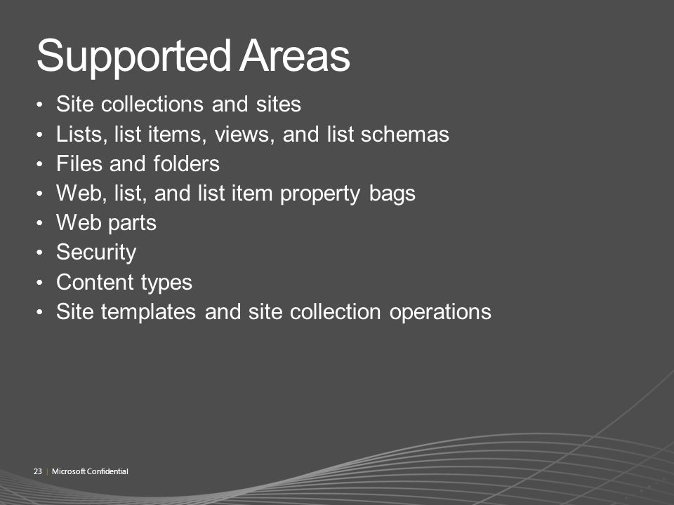 MS Confidential : SharePoint 2010 Developer Workshop (Beta1)