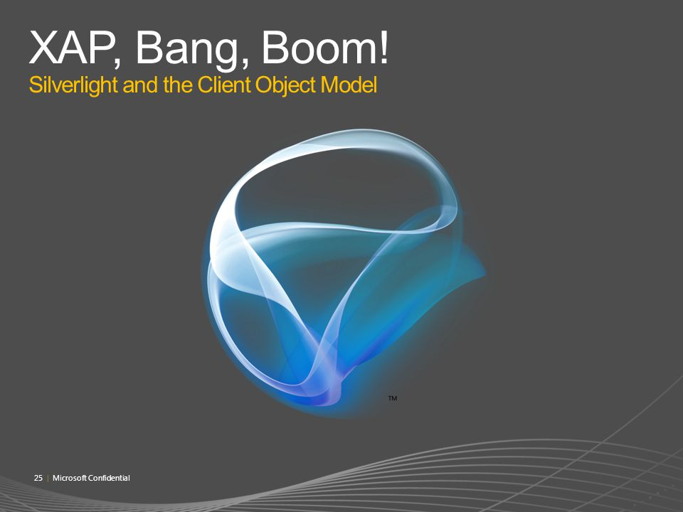 XAP, Bang, Boom! Silverlight and the Client Object Model
