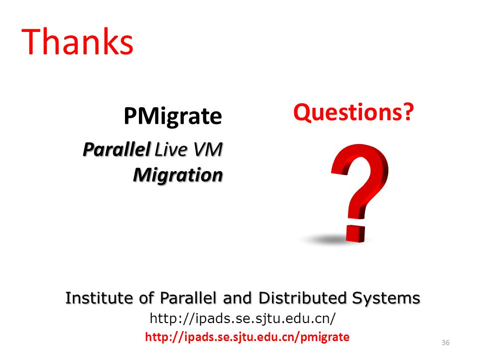 Institute of Parallel and Distributed Systems