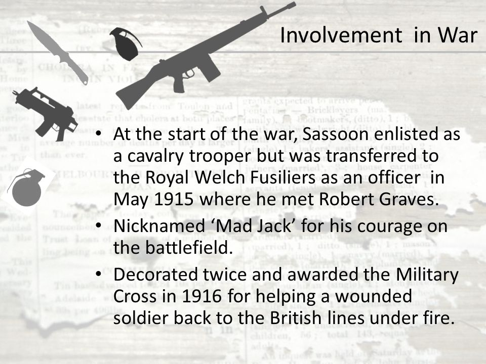 Involvement in War