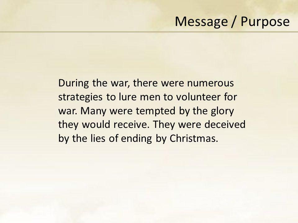 Message / Purpose