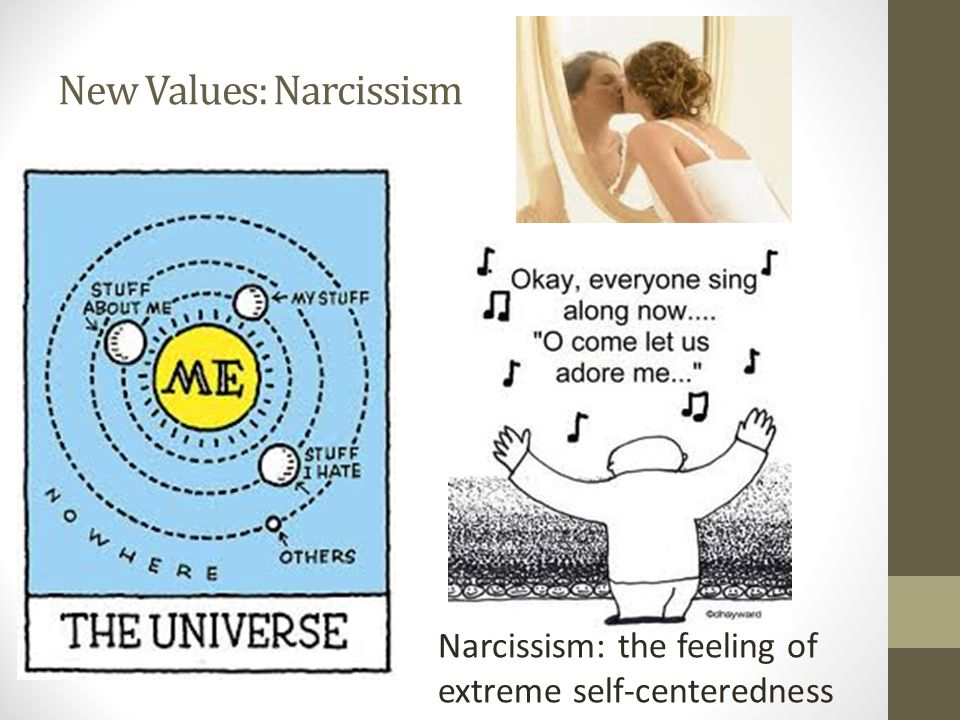 New Values: Narcissism
