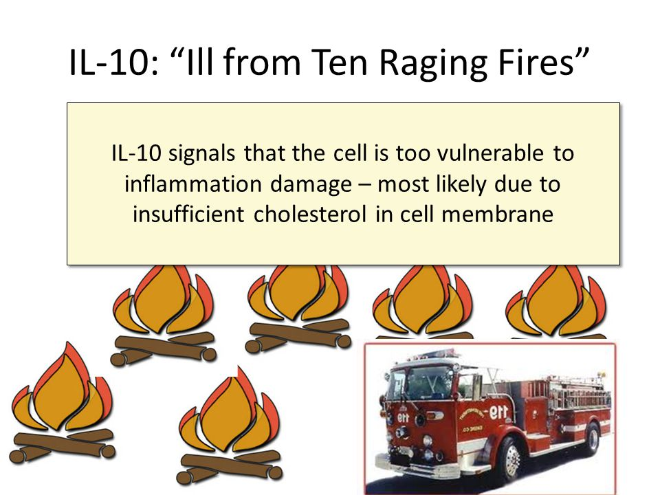 IL-10: Ill from Ten Raging Fires