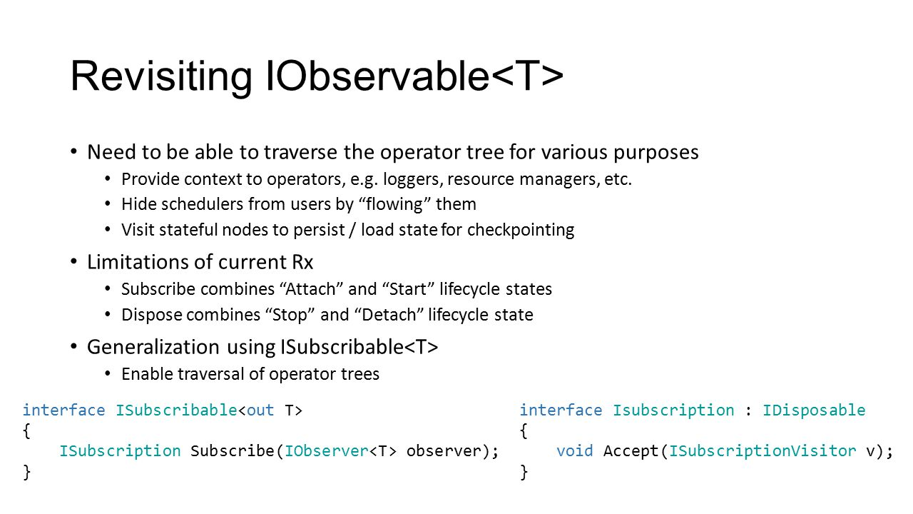 Revisiting IObservable<T>