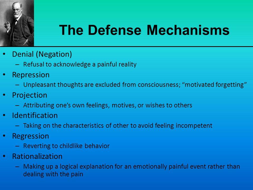 The Defense Mechanisms