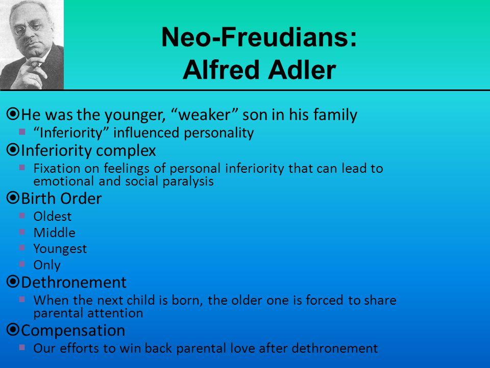 Neo-Freudians: Alfred Adler