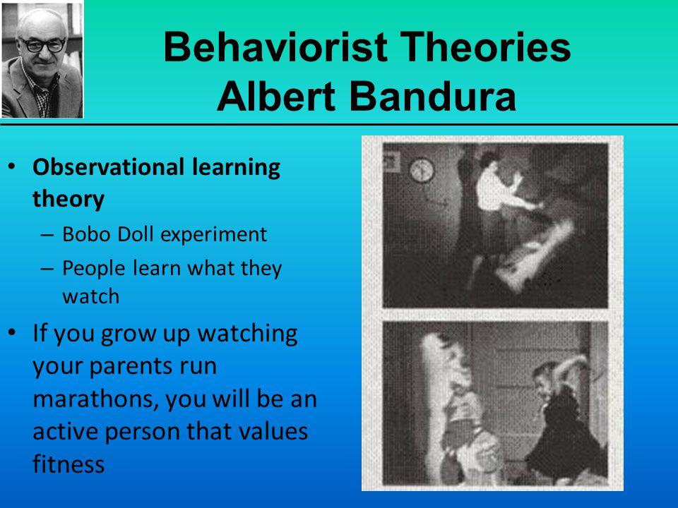 Behaviorist Theories Albert Bandura