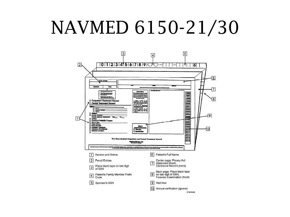 NAVMED 6150-21/30