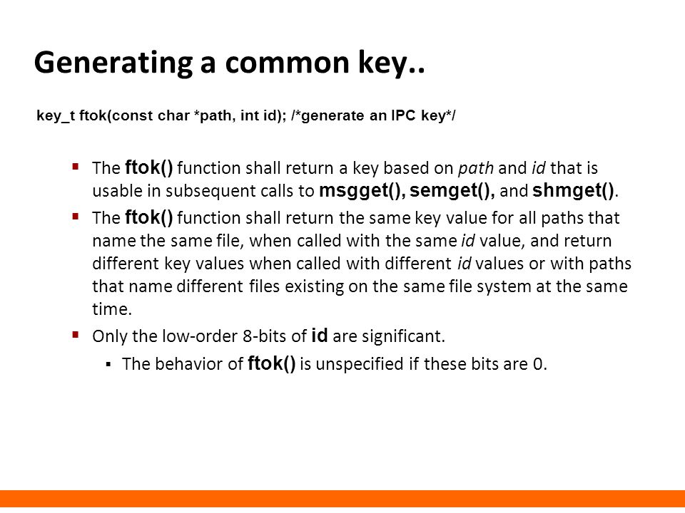 Generating a common key..