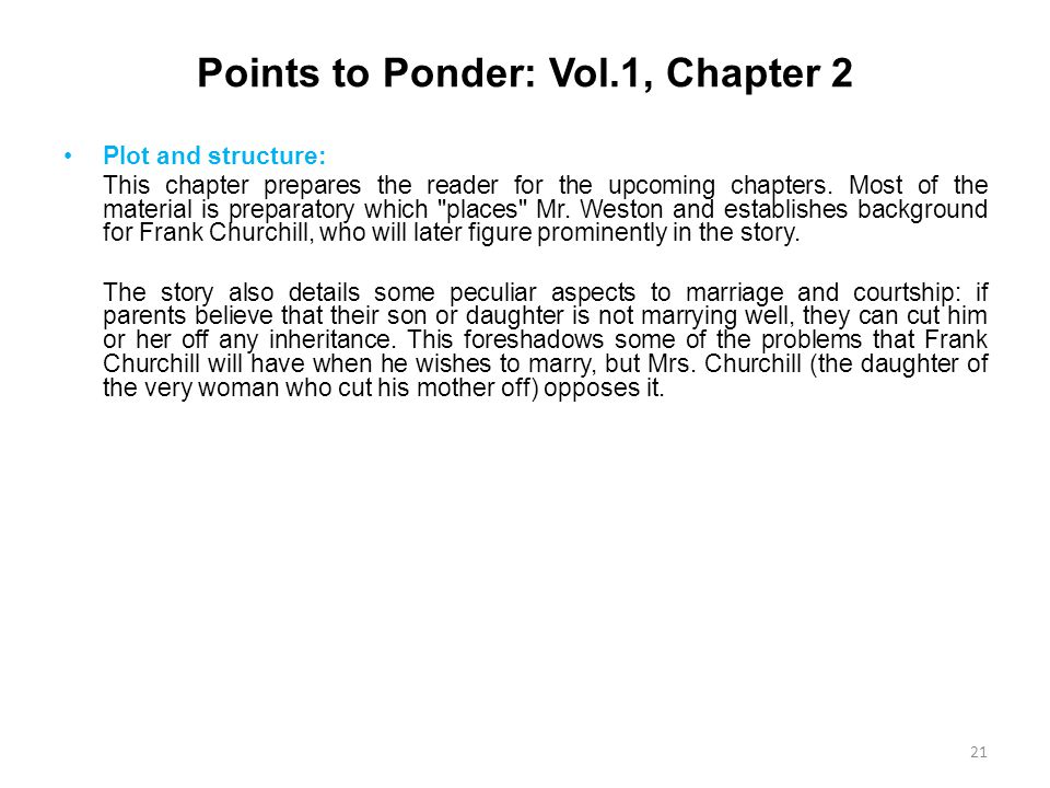 Points to Ponder: Vol.1, Chapter 2