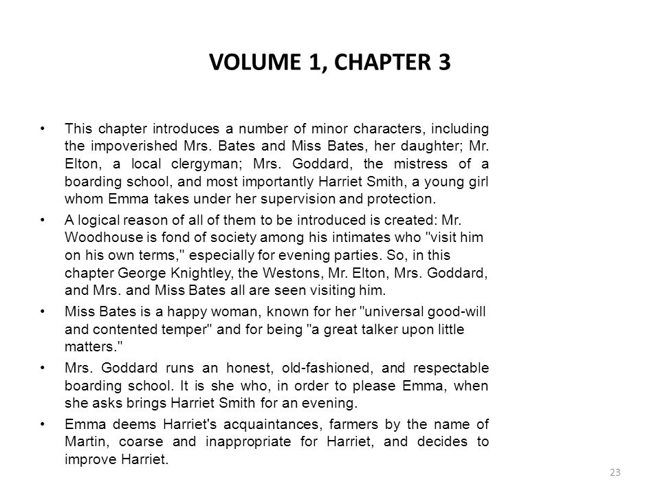 VOLUME 1, CHAPTER 3
