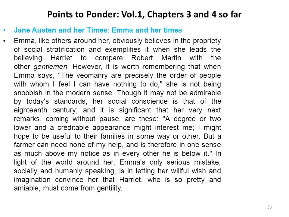 Points to Ponder: Vol.1, Chapters 3 and 4 so far