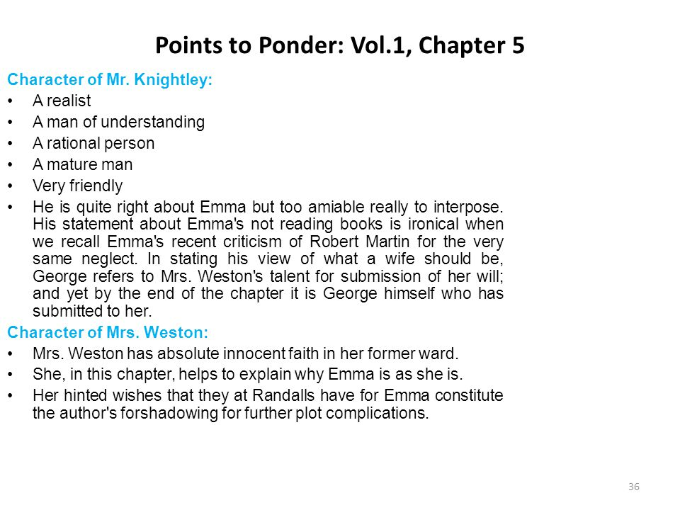 Points to Ponder: Vol.1, Chapter 5