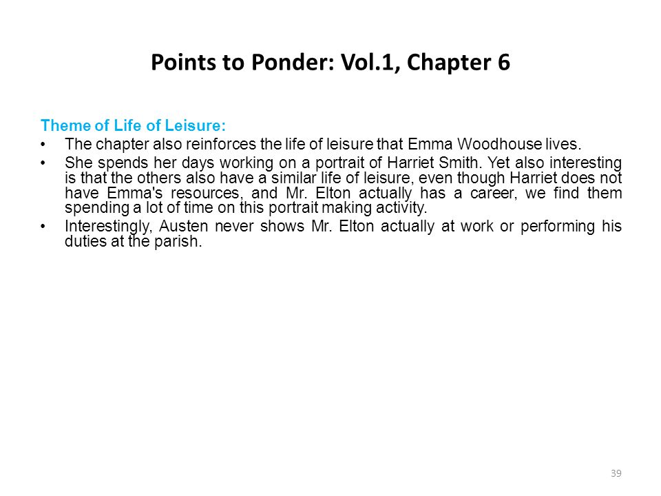 Points to Ponder: Vol.1, Chapter 6