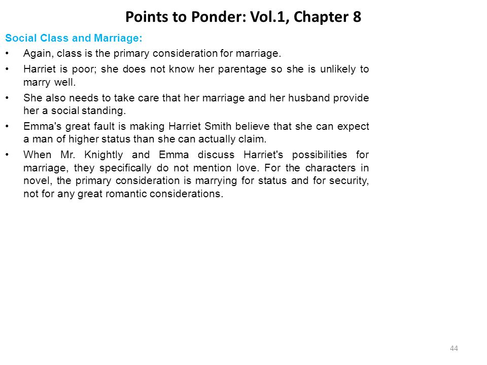 Points to Ponder: Vol.1, Chapter 8