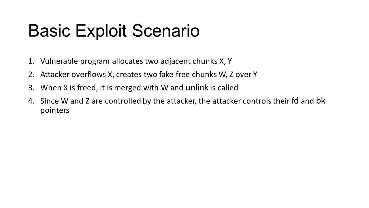 Basic Exploit Scenario