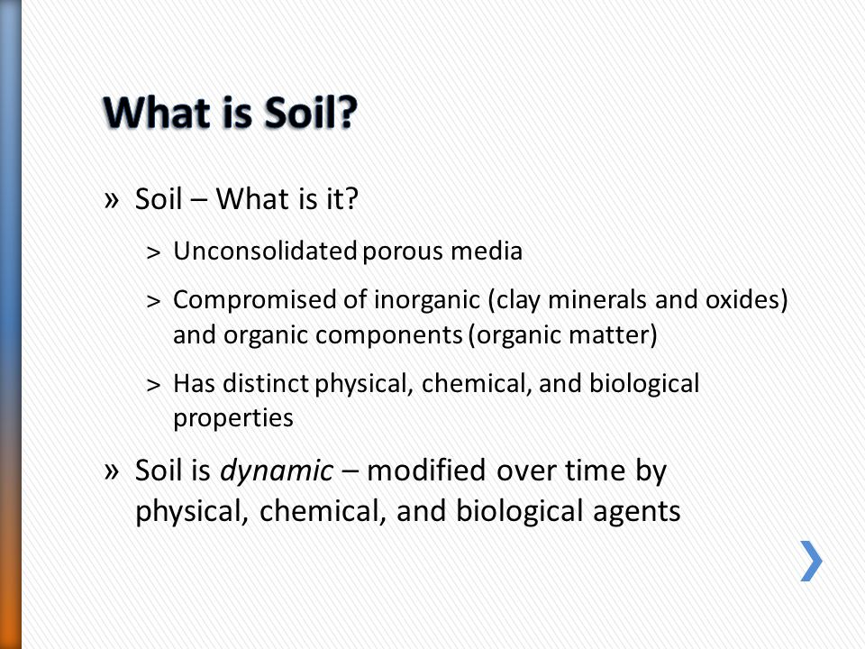 What is Soil Soil – What is it