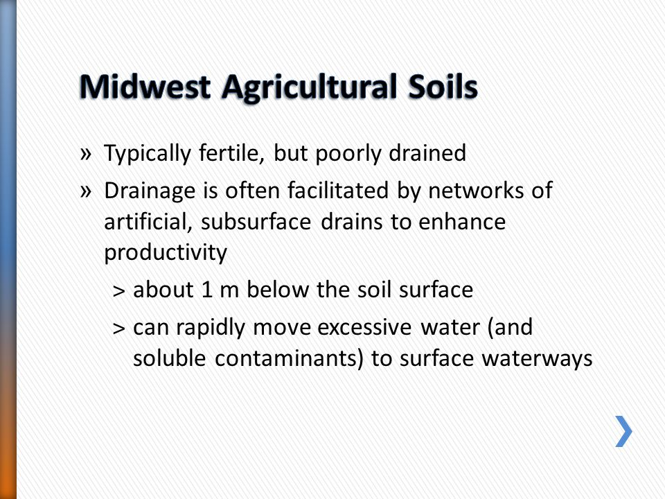Midwest Agricultural Soils