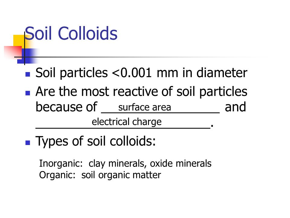 Soil chemical properties ppt video online download for Mineral soil definition
