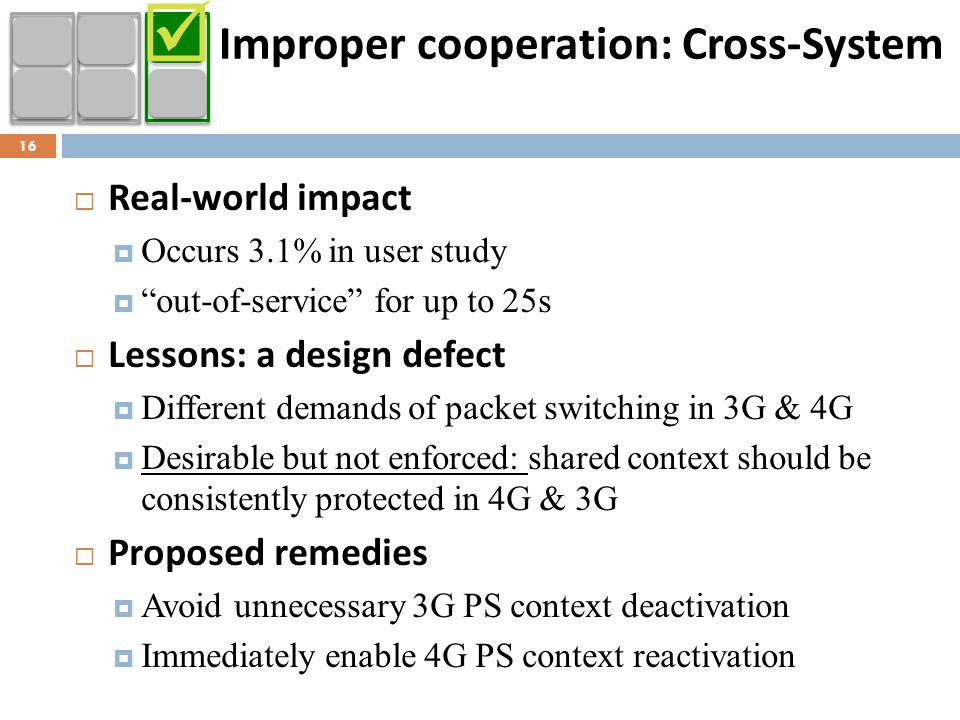 Improper cooperation: Cross-System
